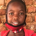 Judith is an orphaned child, she is in primary five, and she 13 years old.